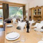 Chalet La Plagne, food and dining