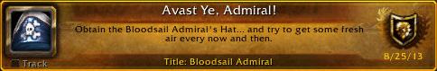 Avast Ye, Admiral