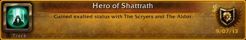 Hero Of Shattrath