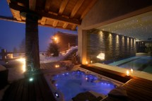 Chalet Spa Verbier In Switzerland - White Blancmange