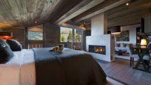 Lodge In Verbier Switzerland - White Blancmange