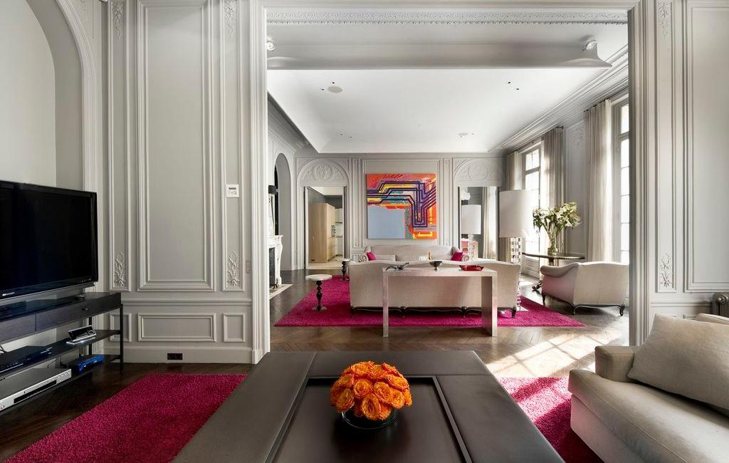 House 16th Arrondissement in Paris France  White Blancmange