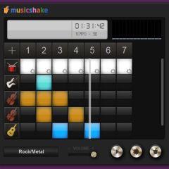 Music Shake – free online music creator