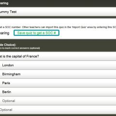 Socrative – class quizzes and polling via any device