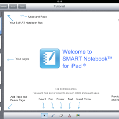 Smart Notebook App for the iPad Launched – A First Look