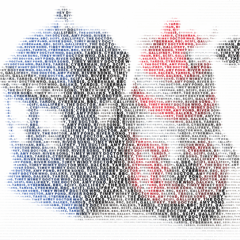 Make Word Clouds from Photographs with Typoeffects