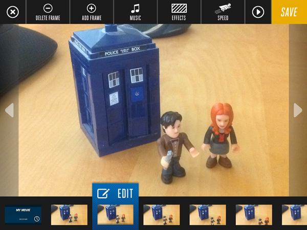 App-vent Day 5 : Animate with Lego Movie Creator