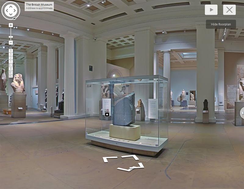 British Museum - Streetview