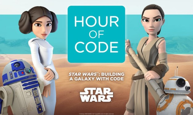Hour of Code to feature Star Wars : The Force Awakens characters