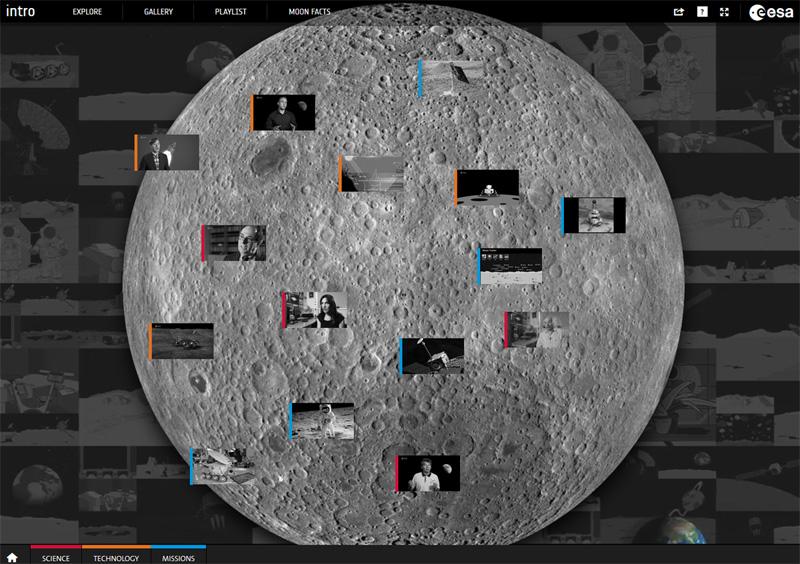 ESA Moon Interactive Guide