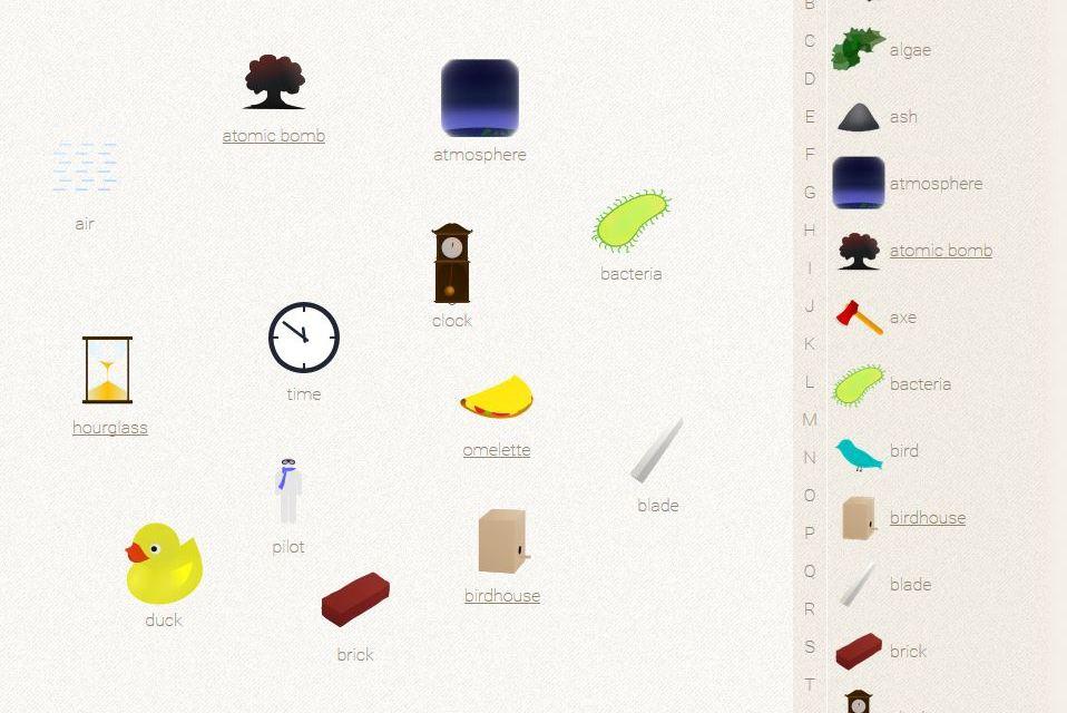 Little Alchemy : A fun little problem solving game