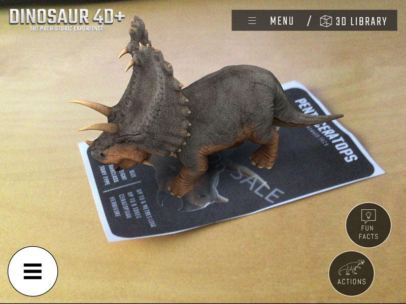 Dinosaur 4d