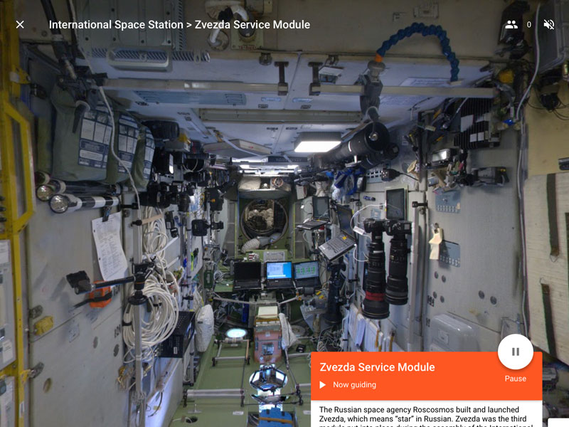 Google Expedition - ISS