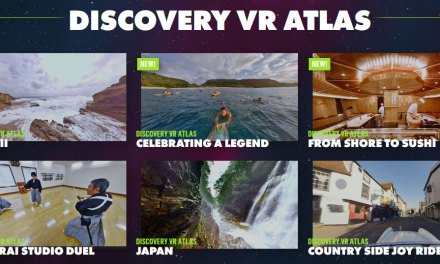 Explore the world with the Discovery VR App