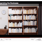 Video: Organizing the Bookcase