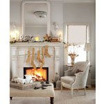 The Friday Five: Wintery Living Rooms