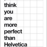 The Friday Five: Helvetica