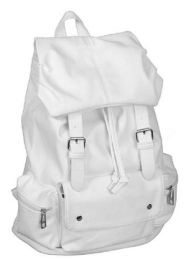 white-backpack