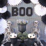 Celebration: White Halloween Decor