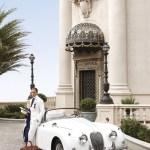 Art: Vintage XK140 Jaguar