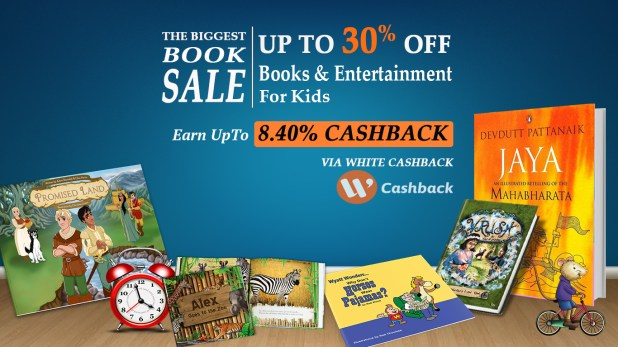 cashback on books