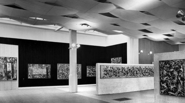 Staging Jackson Pollock - Whitechapel