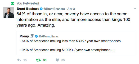 how to get rich tweet