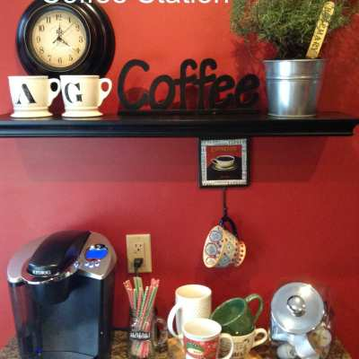 Hot cocoa and coffee Station