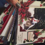 Christmas card- reusing christmas cards- christmas card ring- prayer cards- prayer ring- do it yourself