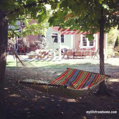 Rest & Relaxation; My Outdoor Spaces
