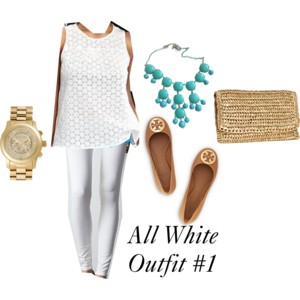 White on White? Yes, You Can Pull it Off!