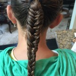Back to School Hair: How To Do a Fish Tail Braid