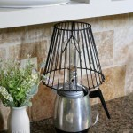 Create and Share Monthly Challenge: DIY Coffee Pot Lamp