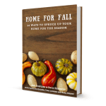 Home for Fall eBook Launches Today!