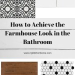 Farmhouse Bathroom Inspiration