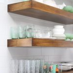 Pretty Hardware, Rustic Shelves, and White Tile in My New Cottage Kitchen