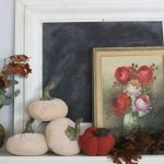 Decorate Your Mantel: A Vintage Fall Mantel with Classic Details
