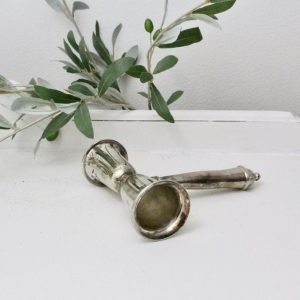 candle snuffer- home decor- silver- vintage- home decor