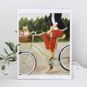 art- artwork- home decor- Janet Hill- print