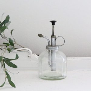 floral water mister- plants- mister- vintage- home decor