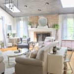 Peaceful Summer Palette In Our Family Room