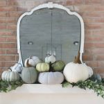 Pumpkin Patch Mantel
