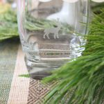 DIY Etched Holiday Glassware