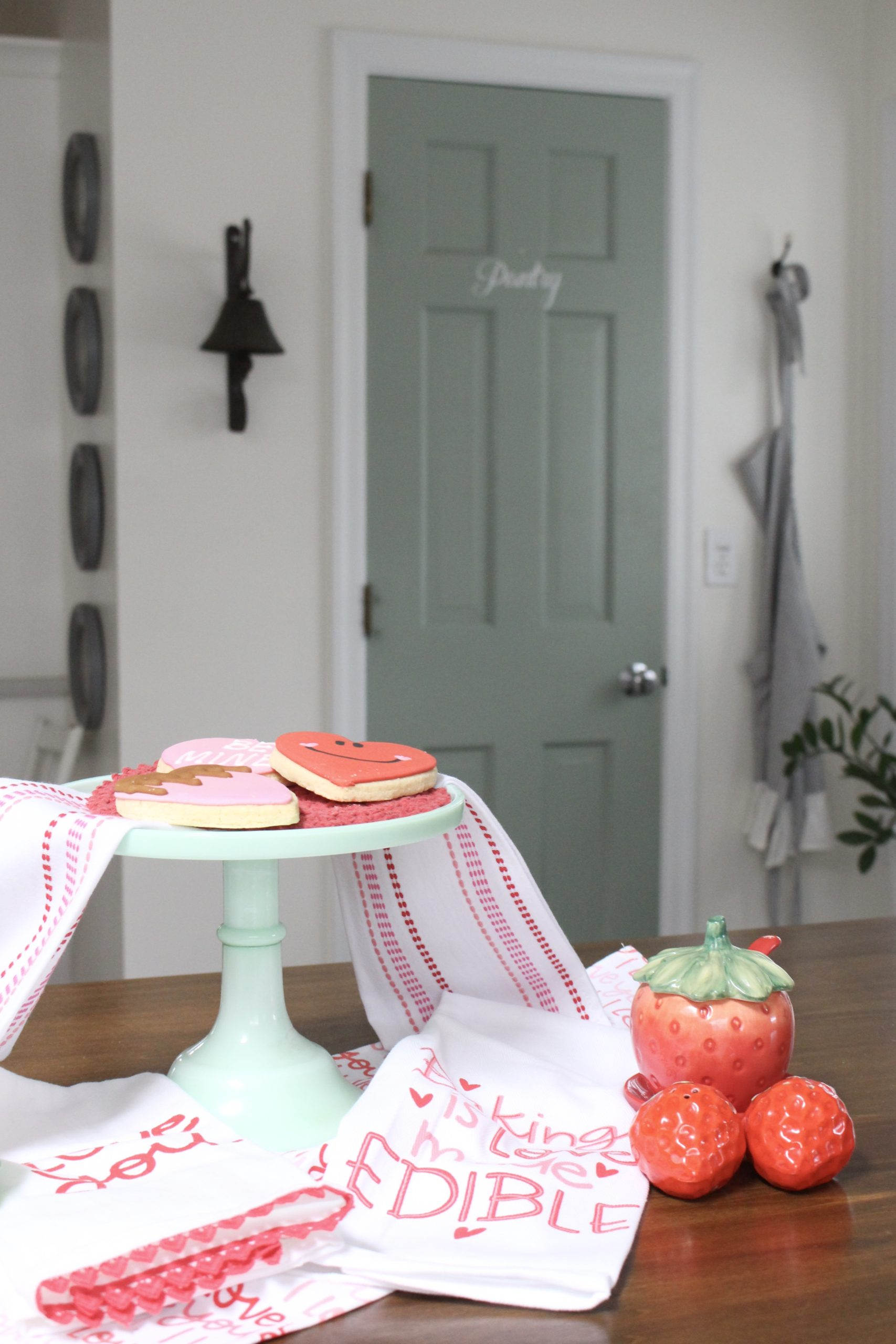 Valentine's Day Decor in the Kitchen