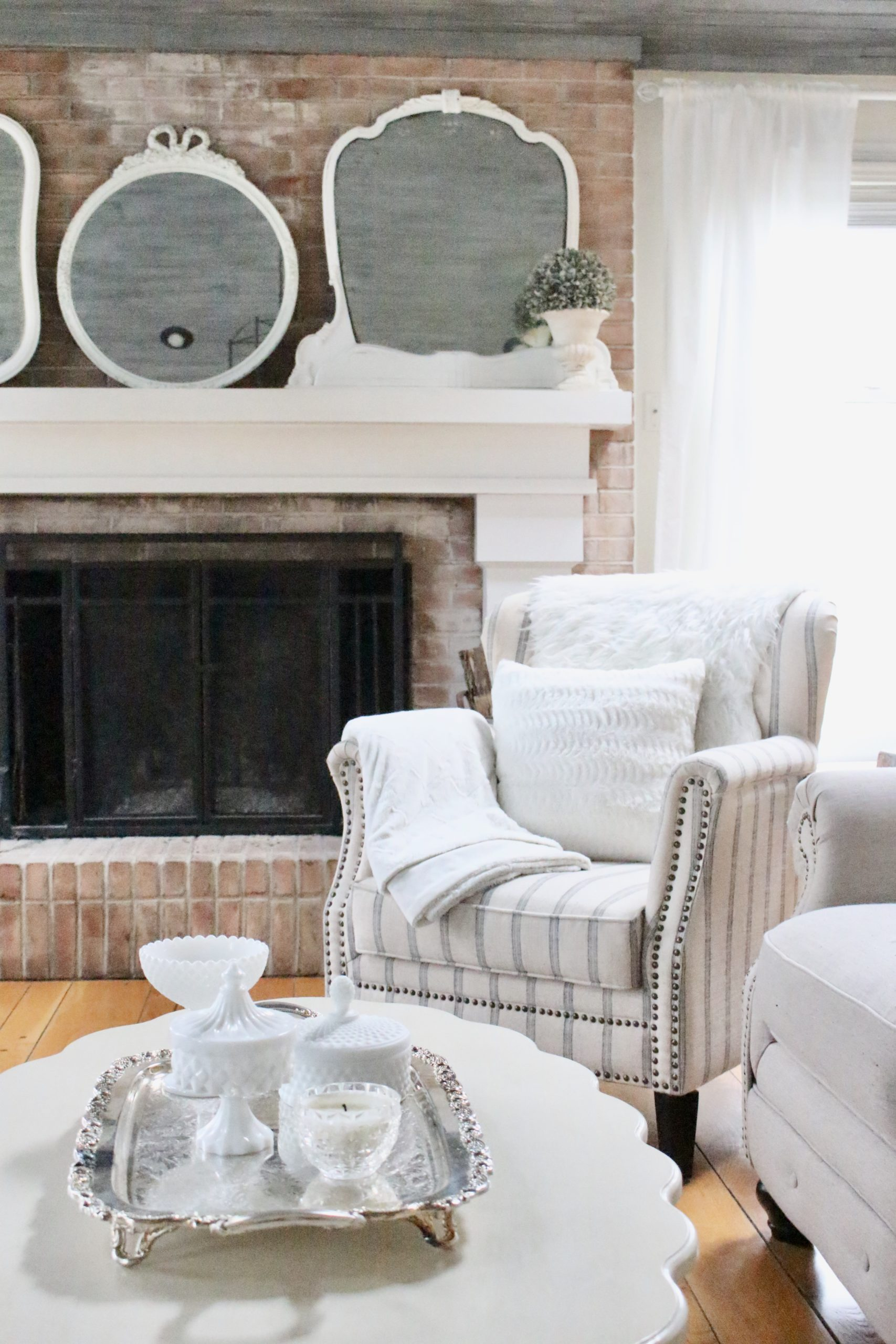 Winter Family Room