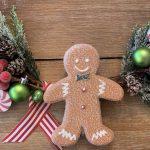 Gingerbread Hoop Wreath
