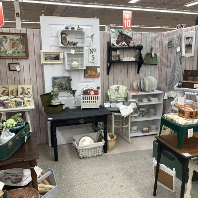 Antique and Vintage Booth~ White Cottage Home & Living