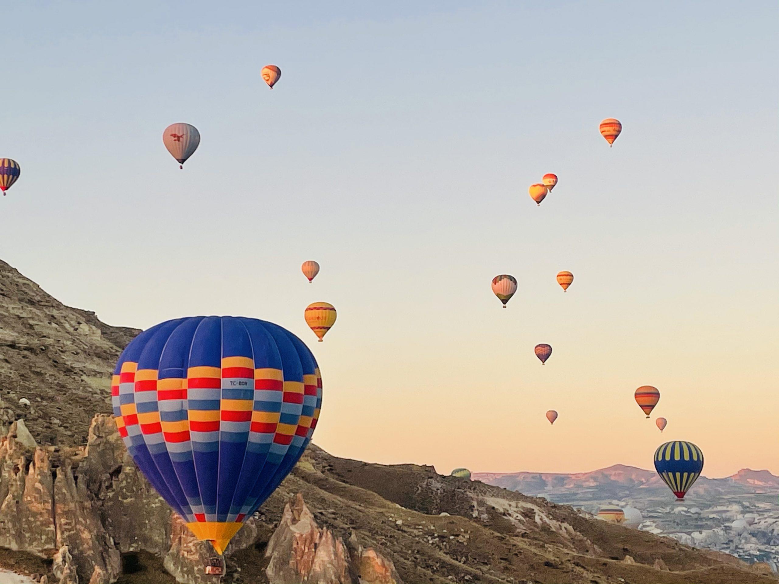 Cappadocia, Turkey Hot Air Balloon Ride