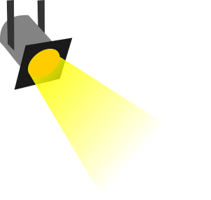 Floodlight for home security