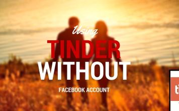 How to use tinder without facebook